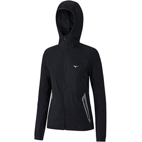 Mizuno Static BT Softshell Hoodie Women black/black
